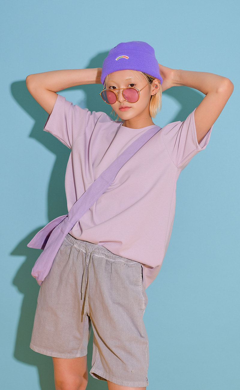 [여남공용] Cooling T-shirt / Purple