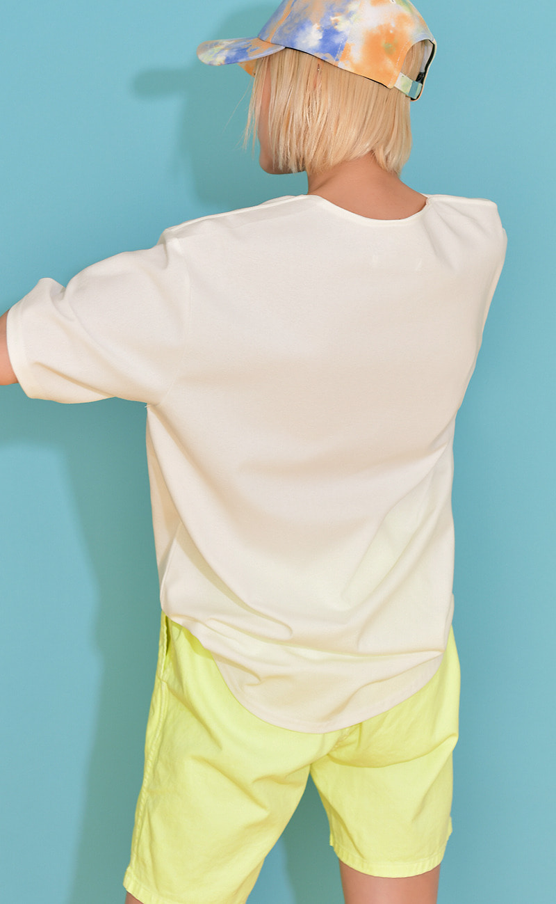 [여남공용] Cooling T-shirt / White